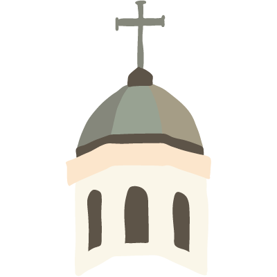 Cupola Cross-Icon
