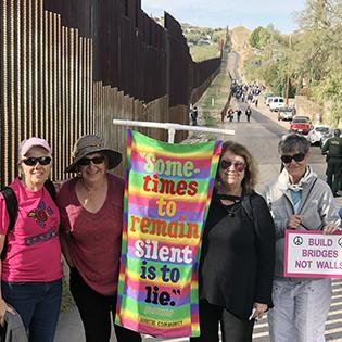 Loretto Delegation Turns Out for 2018 SOA Border Encuentro