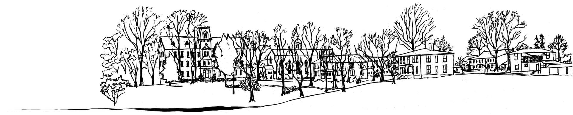 Motherhouse Sketch B&W