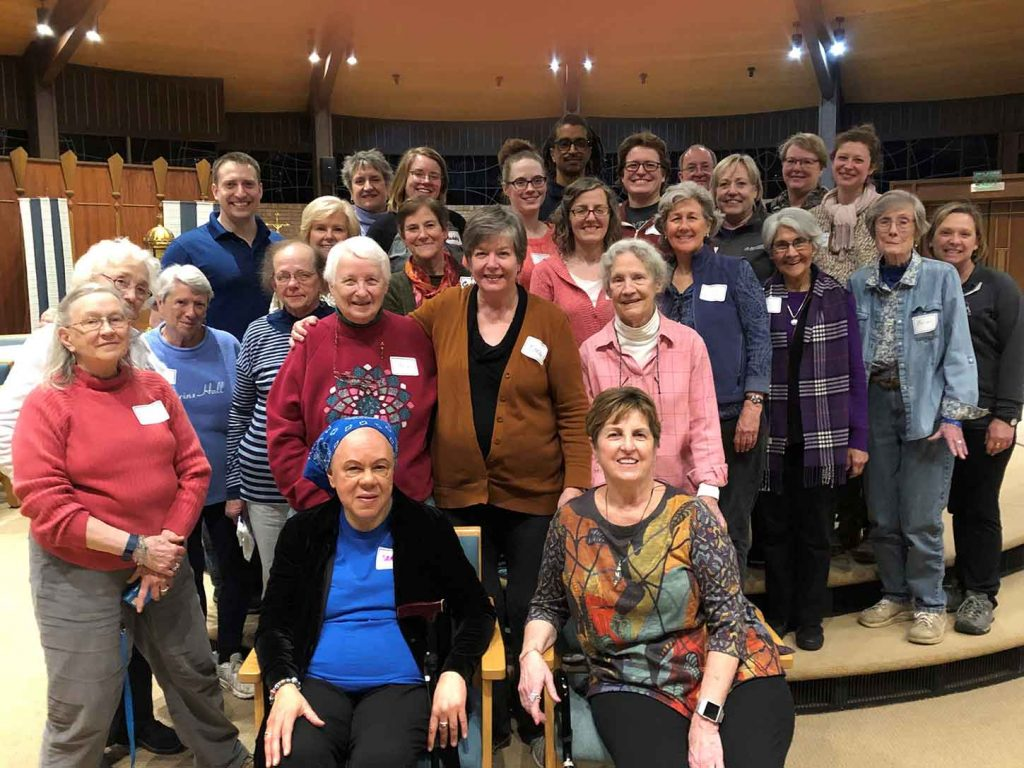 Photo of participants at Outreach retreat in St. Louis 2019
