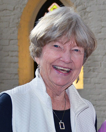 A biography and photo of Susan Kenney CoL, a member of Loretto's Community Forum.