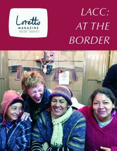 Cover of the Winter 2020 edition of Loretto Magazine