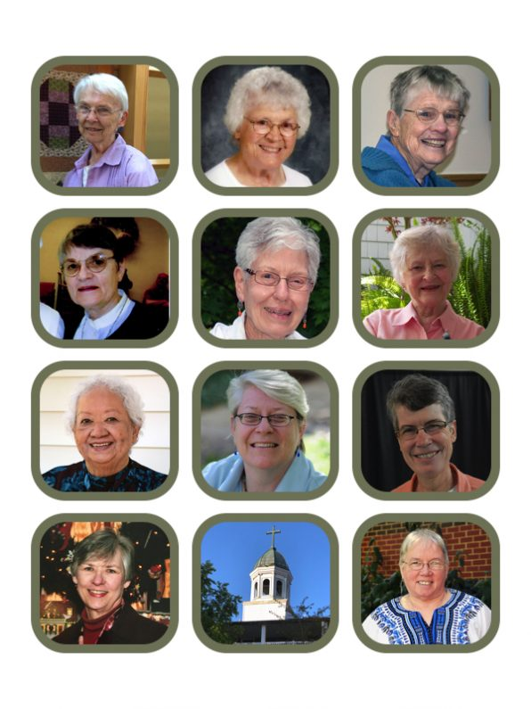 Grid of the 11 2020 jubilarians