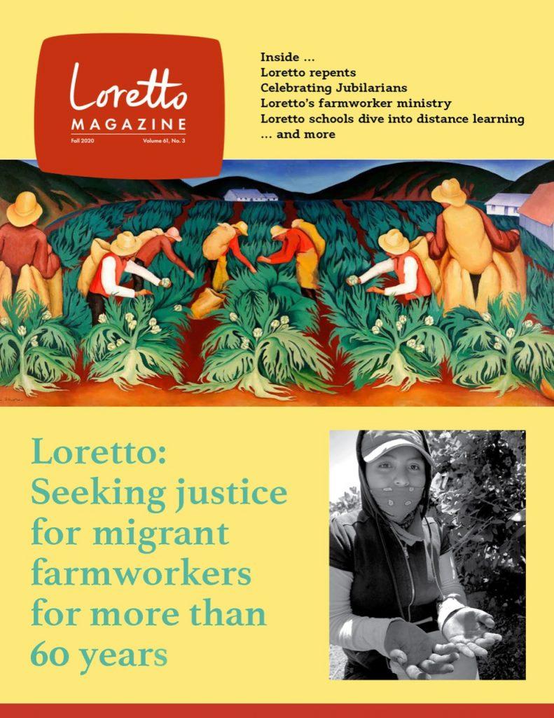 Cover Fall 2020 Loretto Magazine