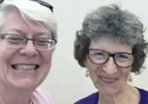 Loretto Co-members Beth Blissman and Jean East at an intentional communities conference this past July.