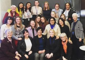 Portion of  Loretto-BVM UN delegation at CSW63