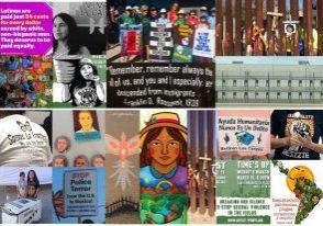 Collage.LACC.CommWeek.FotoCredits.RosaLizarde.xeptBird.WomanHat.SoAmerica.unknown.RECT.FINAL