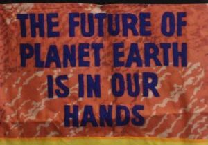 The future of planet earth is in our hands (text only)