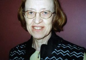 A photo of Sister Nancy Finneran SL