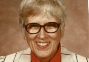 A photo of Loretto Sister Ann Gohl