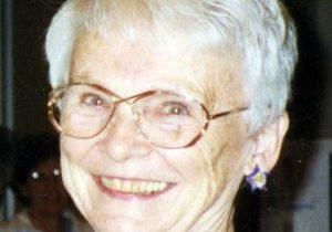 A photo of Loretto Sister Marietta Goy