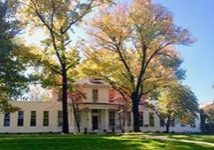 A photo of Lockwood House on the campus of Nerinx Hall High School in Webster Groves, Mo.