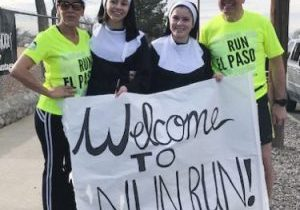 |(Photo courtesy of Jane German)|A scene from the 2019 Loretto Academy Nun Run Feb. 2 in El Paso
