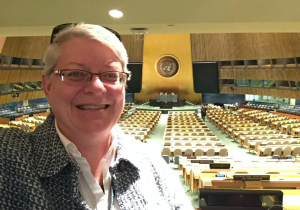 Loretto-Community-U.N.-representative-Beth-Blissman-stands-in-the-General-Assembly-at-the-United-Nations-during-the-64th-Commission-on-the-Status-of-Women