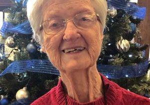 A photo of Loretto Co-member Marjorie Riggs
