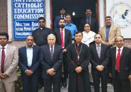 March 16 Nasreen Daniel and other representatives of the National Catholic Education Commission (NCEC) in Pakistan will convene for its annual meeting. Nasreen