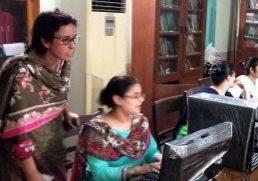 Pakistan classroom1 with Maria Daniel by Nasreen Daniel