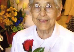 A photo of Loretto Sister Theresa Louise Wiseman